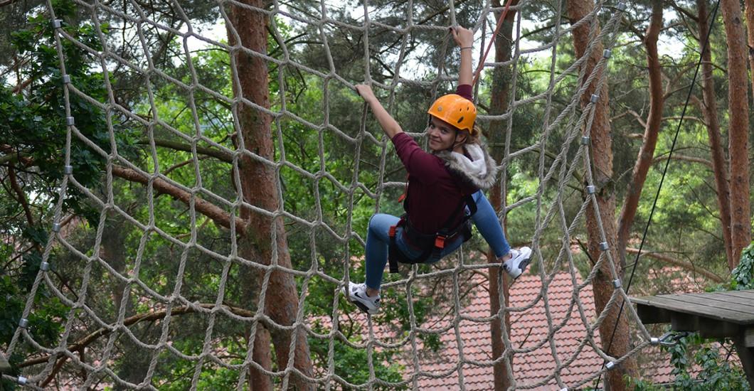 Kletterausrüstung Bielefeld : Hochseilgarten rietberg mit einweisung vorab