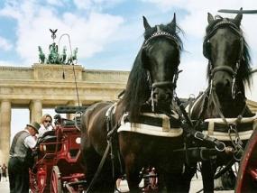 Romantische Kutschfahrt in Berlin
