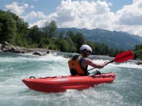 Safari Rafting auf der Iller in Sonthofen, Allgäu - Erlebnisgeschenke