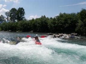 Safari Rafting & Hochseilgarten in Sonthofen, Allgäu - Erlebnis Geschenke