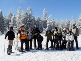 Schneeschuh Wanderung in Unterstmatt, Raum Baden-Baden