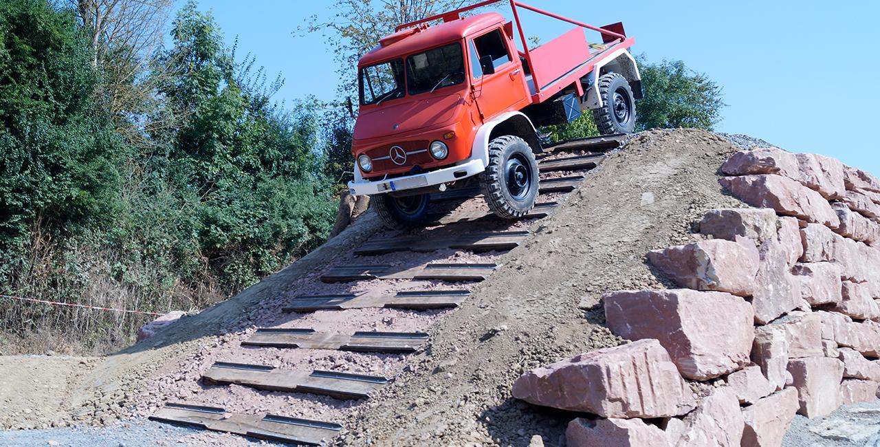 Truck-Offroad fahren