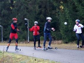 Skiroller Kurs in Jena, Thüringen - Erlebnis Geschenke