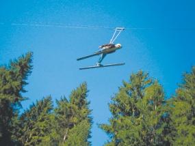 Skispringen Fortgeschrittene in Steinach, Thüringen - Erlebnis Geschenke