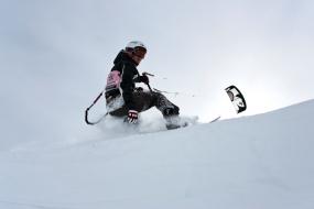 Snowkiten 2 Tageskurs in Albstadt, Raum Tübingen - Erlebnis Geschenke