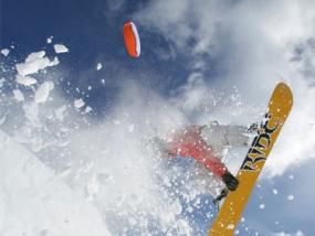 Snowkiten 2 Tageskurs in Winterberg, NRW