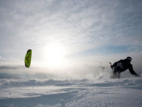 Snowkiten Privatkurs in Zell am See, Österreich - Erlebnis Geschenke