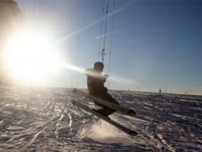 Snowkiten Schnupperkurs in Lofer, Österreich - Erlebnis Geschenke
