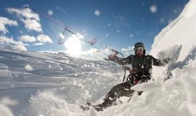 Snowkiten Schnupperkurs in Westerheim, Baden-Württemberg - Erlebnis Geschenke