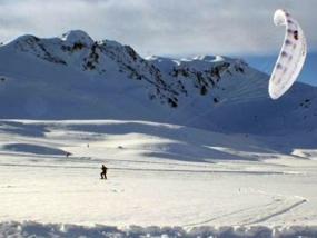 Snowkiten Schnupperkurs in Winterberg, NRW