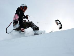Snowkiten Schnupperkurs in Zell am See, Österreich - Erlebnis Geschenke