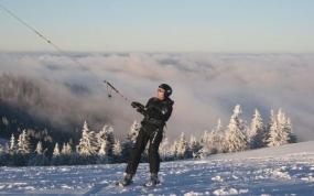 Snowkiten Tageskurs in Westerheim, Raum Ulm in Bayern - Erlebnis Geschenke