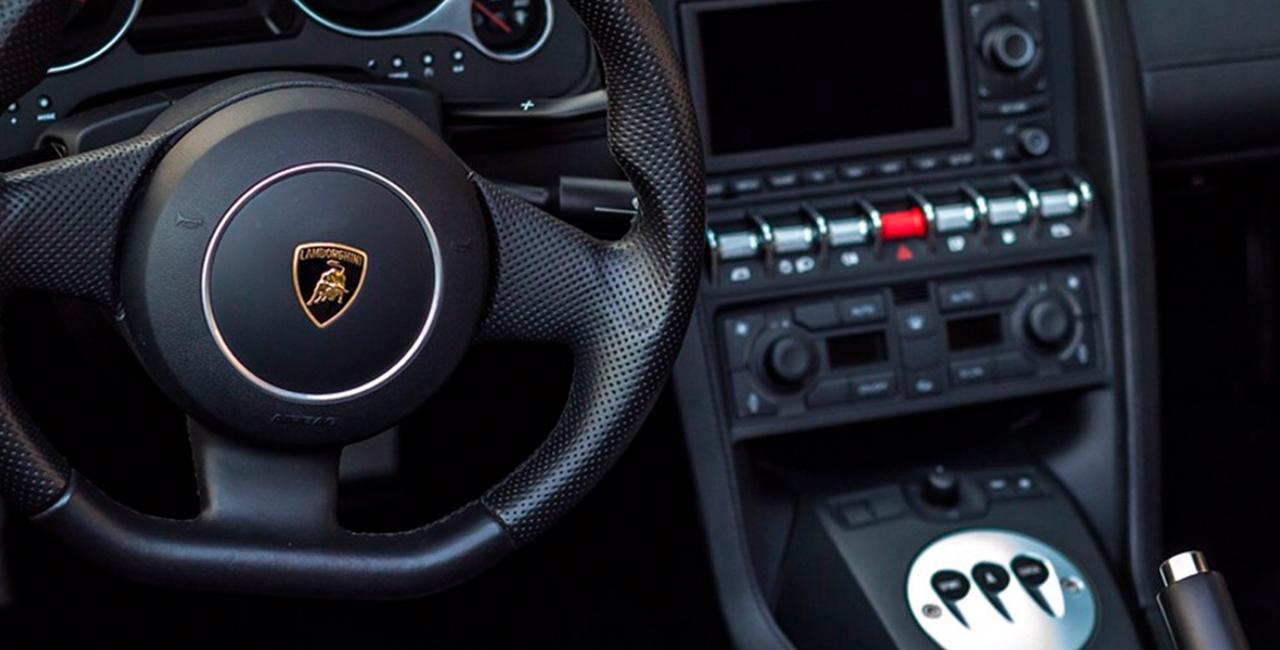 1 Runde Lamborghini Gallardo selber fahren auf dem Racepark Meppen