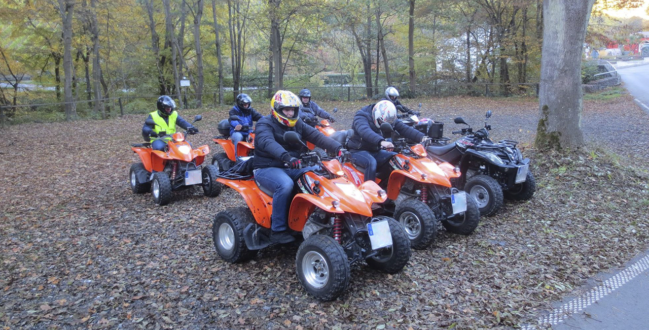 2 Std. Quad Offroad Tour in Gusterath