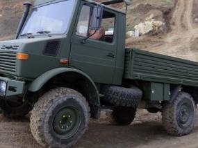 Truck (Unimog) offroad selber fahren Knüllwald - Erlebnis Geschenke