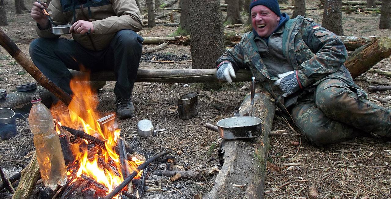 Überleben in der Wildnis (3 Tage) in Benneckenstein im Harz
