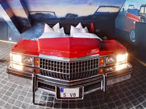 Übernachtung im Autokinozimmer in Böblingen, Raum Stuttgart - Erlebnis Geschenke