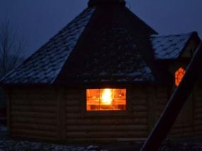 Übernachtung in einer finnischen Kota in Neustadt am Rübenberge - Erlebnis Geschenke