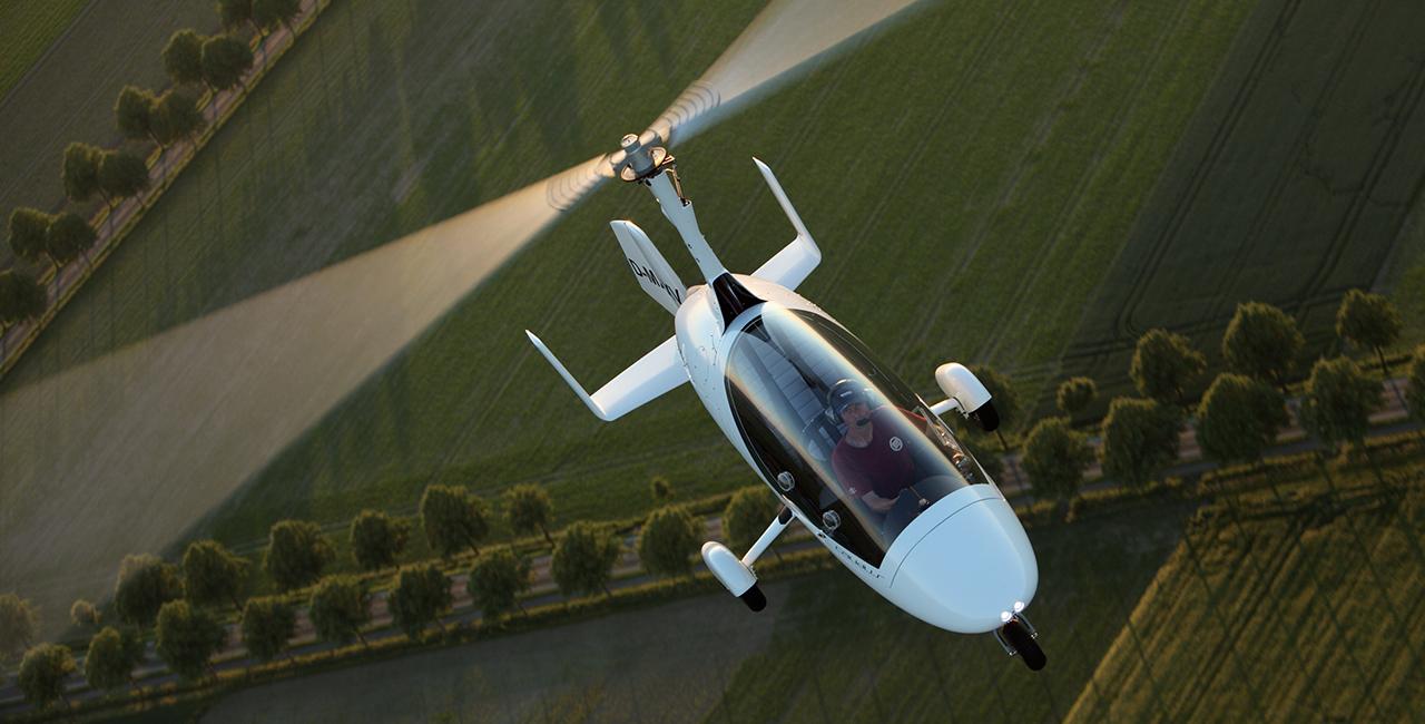 30 Min. Tragschrauber selber fliegen in Amberg