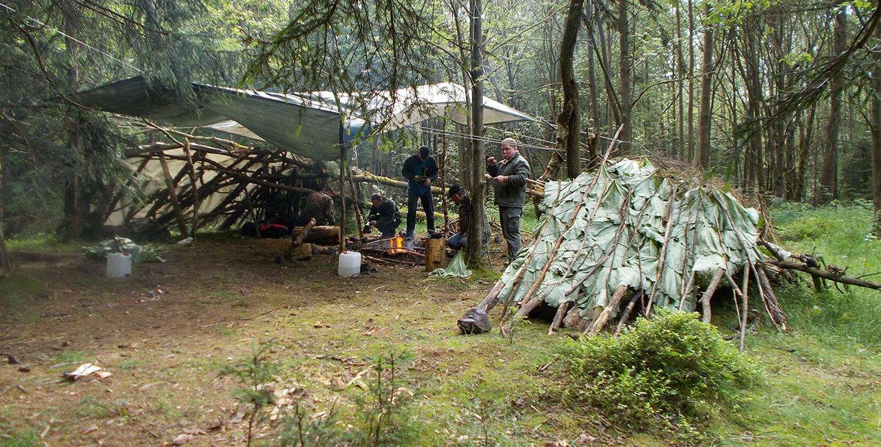 Wildnis- Survival Wochenende (3 Tage)  in Benneckenstein im Harz