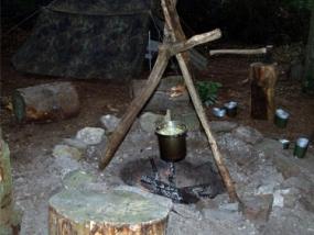 Wildnis-Survival Wochenende Messer in Clausthal-Zellerfeld - Erlebnis Geschenke