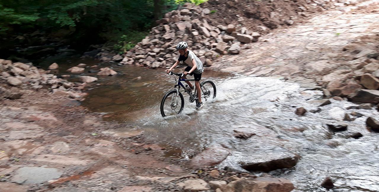 Mountainbike-Kurs