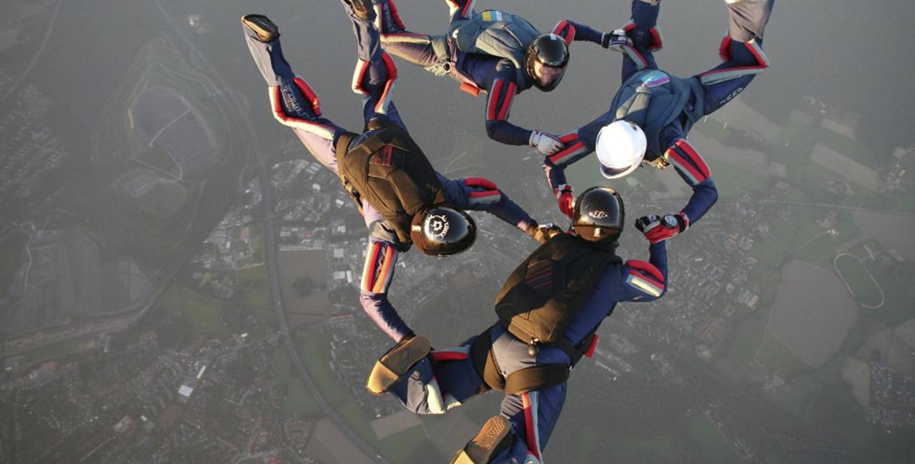 Fallschirmfliegen