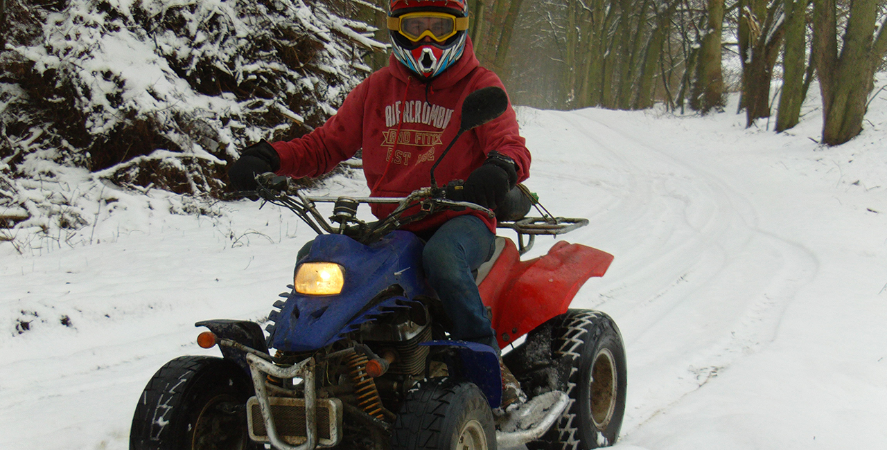 Winter-Quadtour