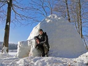 Winter Wildnis Wochenende in Neumarkt, Raum Nürnberg - Erlebnis Geschenke