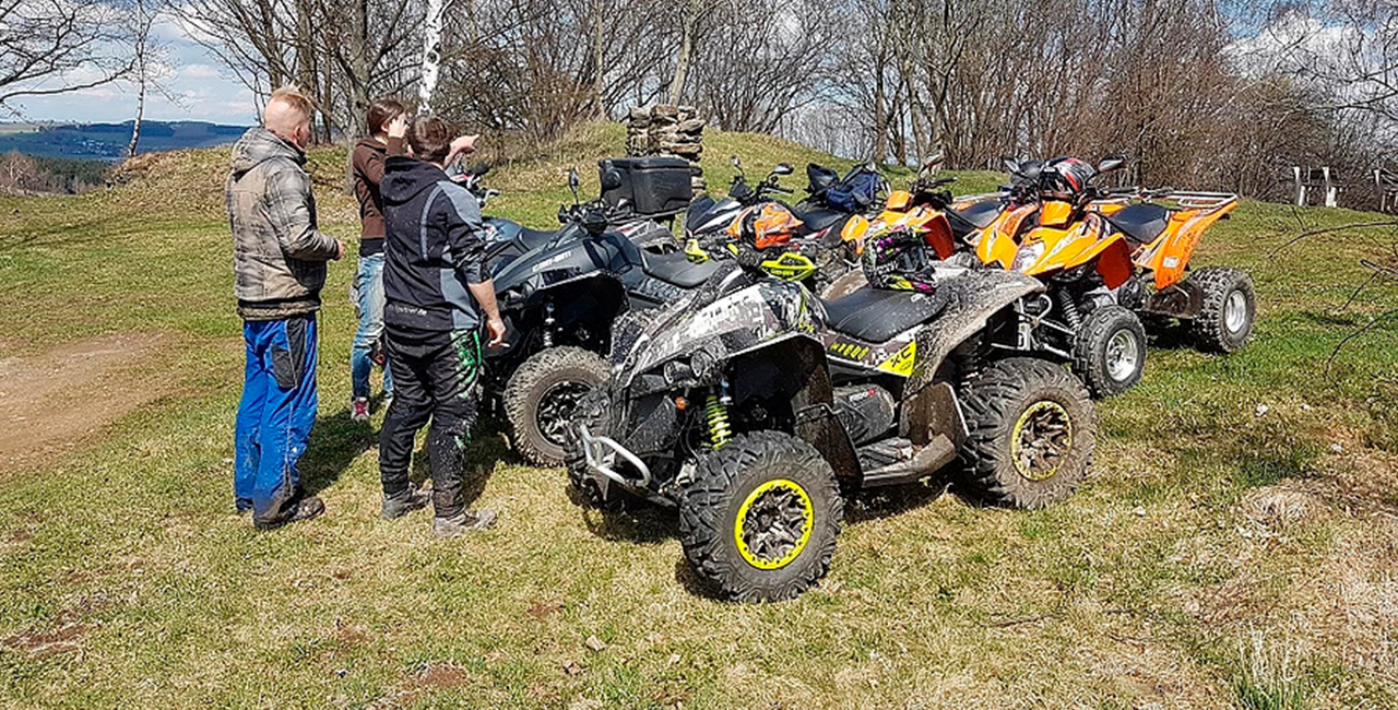 2,5 Std. Quad `Mondschein` Tour in Wolkenstein