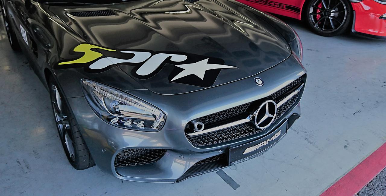 Porsche vs. Mercedes Renntraining in Zandvoort