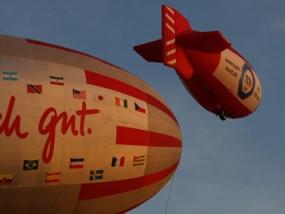 Zeppelin Rundflug in Pulheim, Raum Köln in NRW - Erlebnis Geschenke