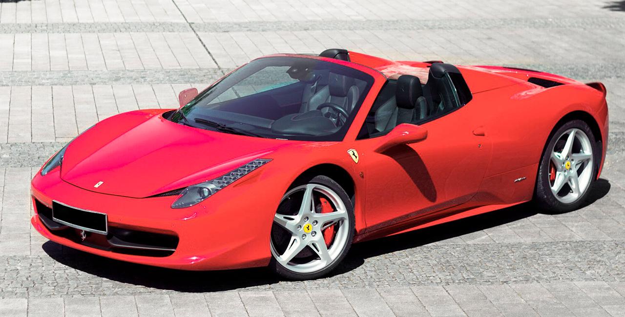 1 Tag Ferrari F458 Italia Spider selber fahren in Zorneding