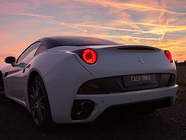 30 Min. Ferrari California selber fahren Mömbris - Erlebnis Geschenke