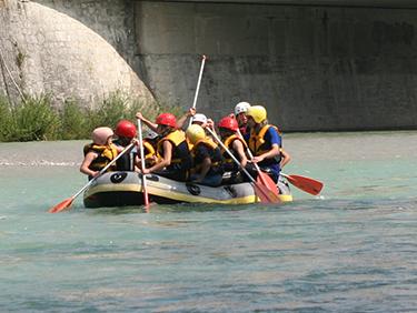 Raftingtour auf dem Rhein in Köln, NRW - Erlebnis Geschenke