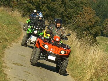 Quad Tour Tagestour Herresbach