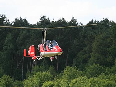 20 Min. Tragschrauber Rundflug Damme - Erlebnis Geschenke
