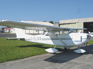 50 Min. Flugzeug Rundflug Mainz