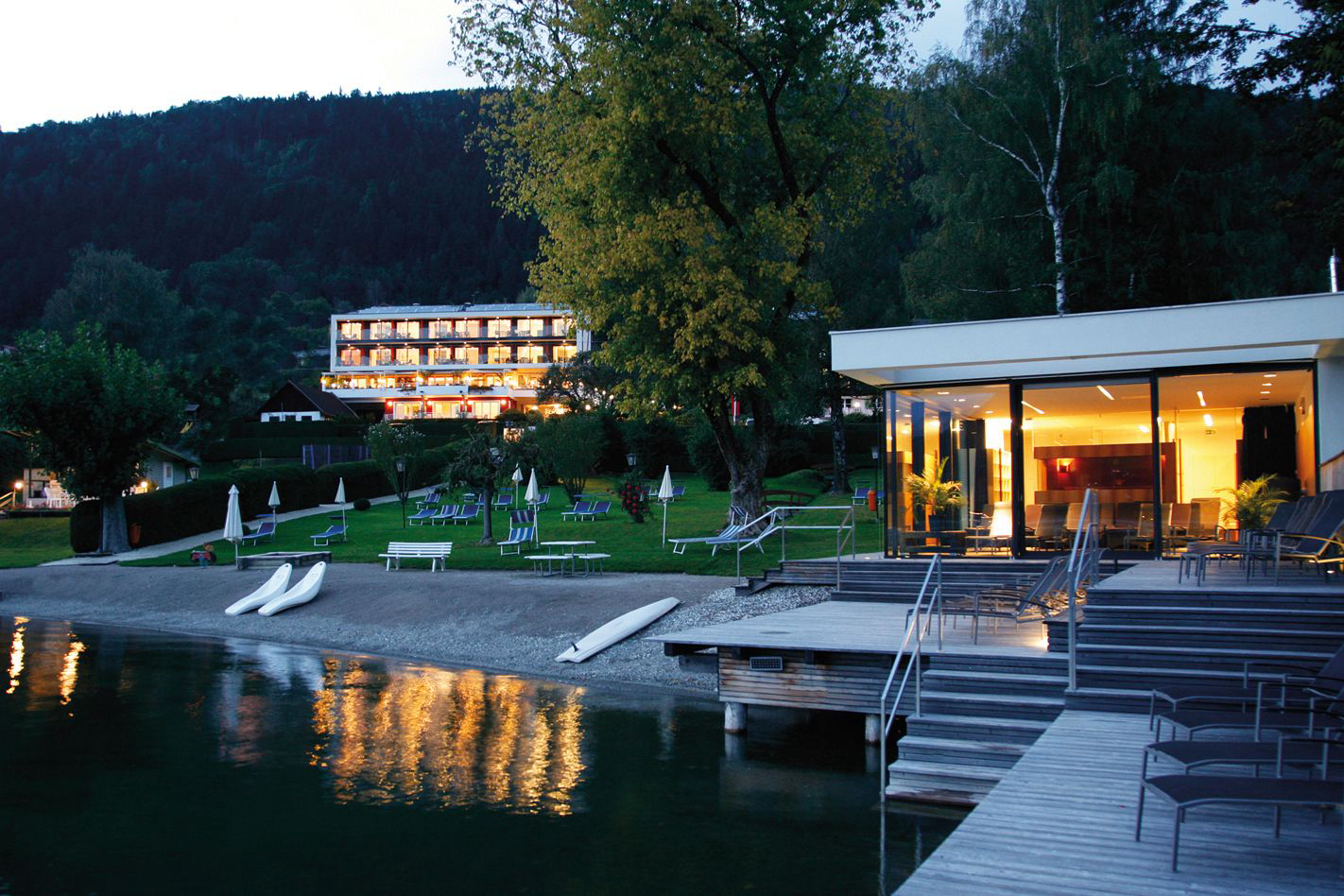 Kurzurlaub in Steindorf am Ossiacher See